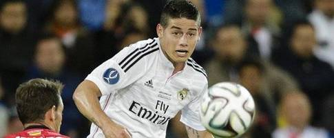 James proud of first season with Real Madrid